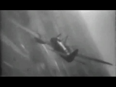 Rare Gun Camera Footage of German Mistel Bombers Shot Down