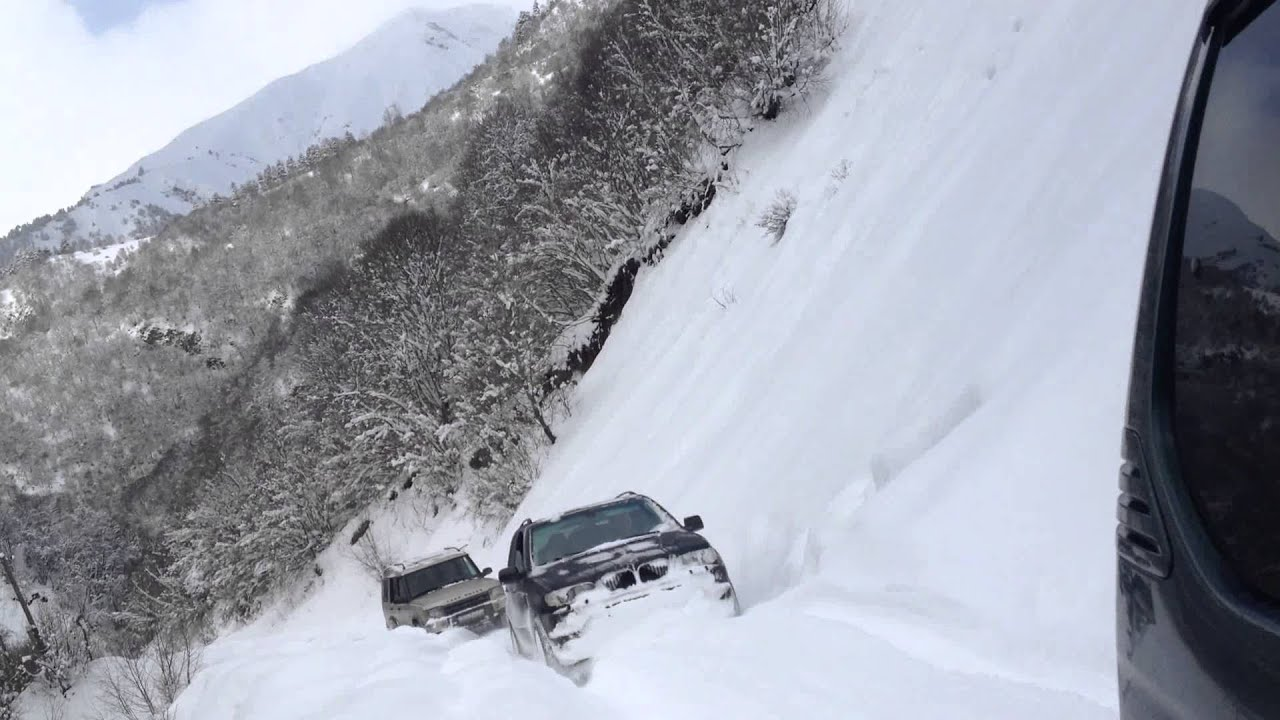 X5 In The Deep Snow Kala Ushguli Road Youtube