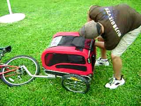 Trixie Dog Bike Trailer Review