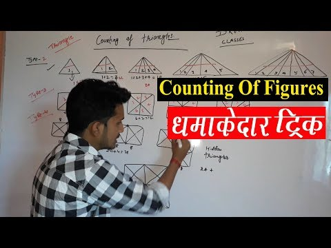 Counting of figures|tringles|square short trick for Railway Ssc Banking cgl upsc bpsc BY RAHUL SIR