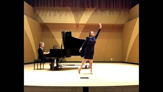 Stridono lassù. Daniela Guzmán-Égüez, soprano