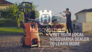 Introducing Husqvarna Water Blasters