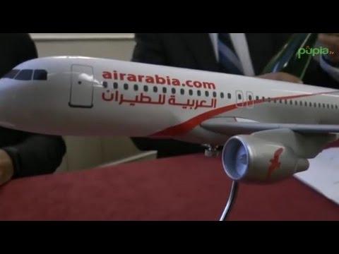 Napoli - Air Arabia Inaugura Il Nuovo Volo Napoli-Casablanca -1- (04.03.15)