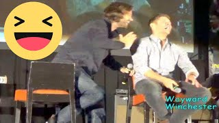 The Moment Jensen & Jared Fell In Love With Their Wives & Jensen LOSES IT!