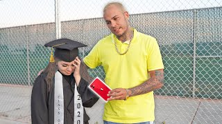 Surprising HIGH SCHOOL Graduates with iPhone 11's