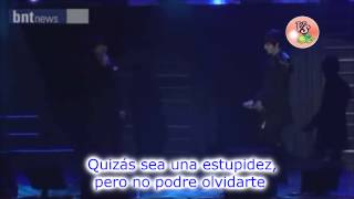 Park Jung Min & Kim Hyung Jun If You Cannot Sub Español
