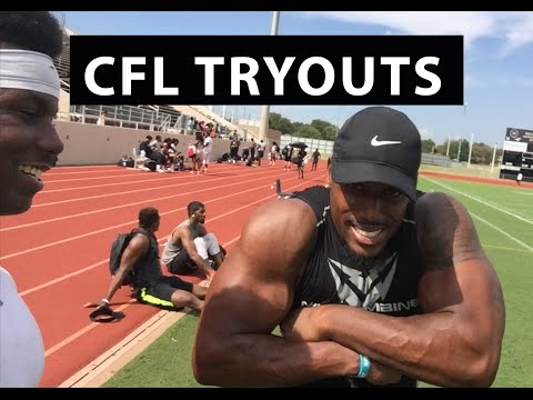 CFL Free Agent Tryout | Edmonton Eskimos | Good Football Players | EnjoyTheGrind | Enjoy The Grind
