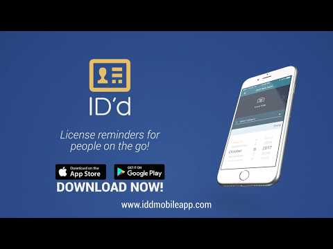 IDd iPhone Android app
