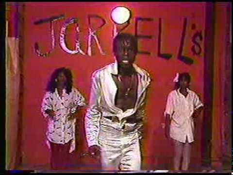 Jarrell's St Louis black barbershop beauty salon 1980's.