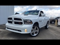2017 Ram 1500 Sport R/T 5.7L V8 HEMI - Start-up & Review