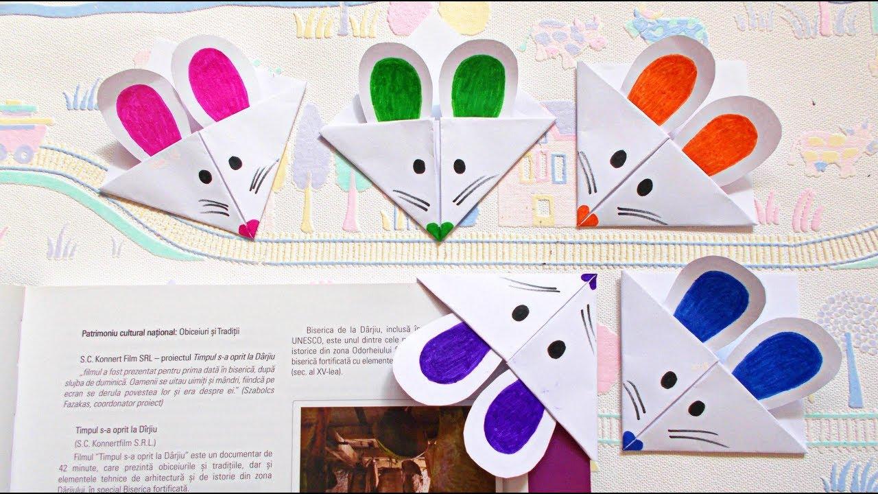 how to make bookmarks | easy origami bookmark corners | bookmark