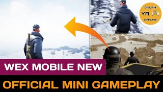WEX MOBILE Mini Gameplay   WEX MOBILE GAMEPLAY   NEW INDIAN BATTLEROYALE GAME   ONLINE YA OFFLINE   
