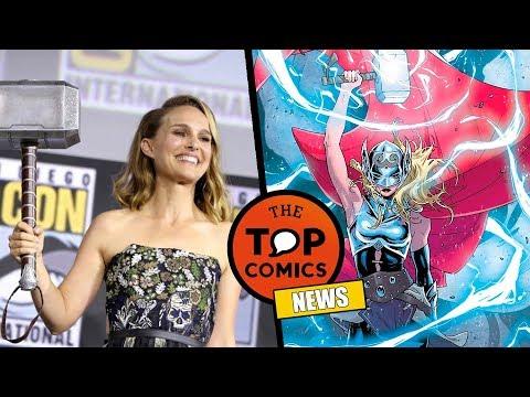 Marvel anuncia 4ta Fase l Thor 4 l Doctor Strange 2 l Eternals