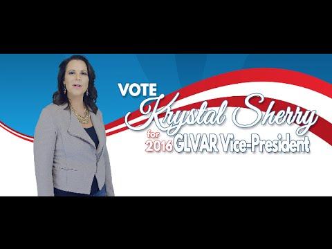 Krystal Sherry for GLVAR Vice-President 2016!