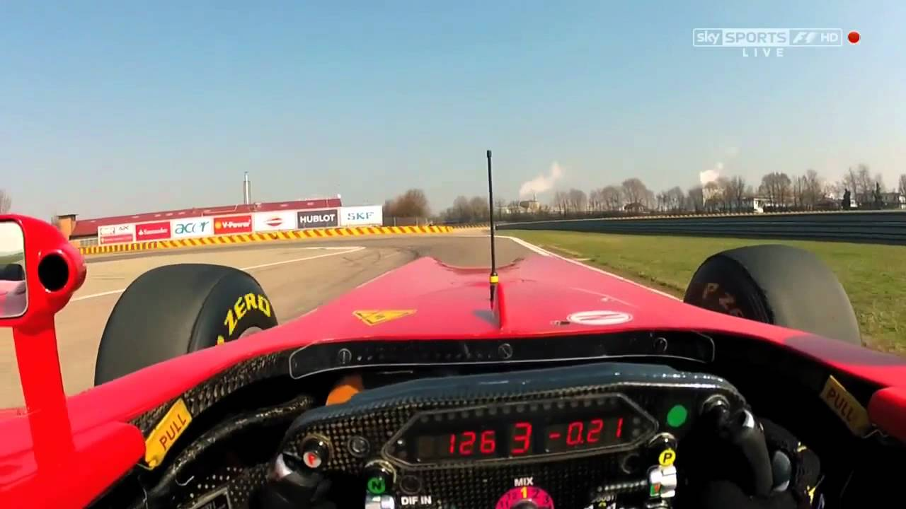 how to drive an f1 car feat martin brundle in a ferrari f1 youtube. Black Bedroom Furniture Sets. Home Design Ideas
