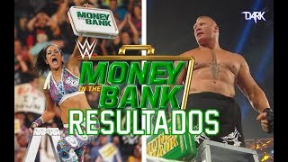 Resultados WWE Money in the Bank 2019 Seth Rollins vs Aj Styles Kofi Kingston vs Kevin Owens