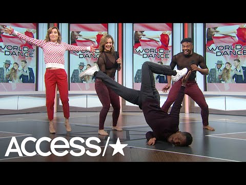 'World Of Dance' Phenoms Derion & Madison Show Off Their Killer Moves On Access Live! | Access