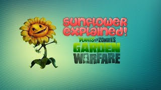 plants vs zombies garden warfare sunflower explained w jg tips and tricks