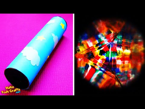 How to make a kaleidoscope? DIY