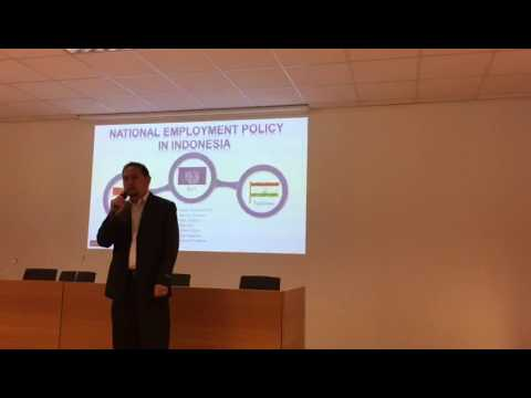 Employment policy, Mr. Dendi and Mr. Habibi inseun
