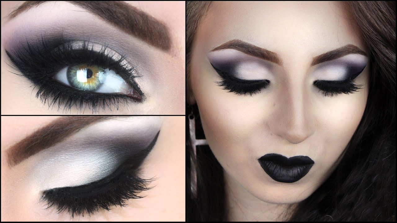 Dunkel Blaue Augen The Black Make-up I Hannah Black - Youtube
