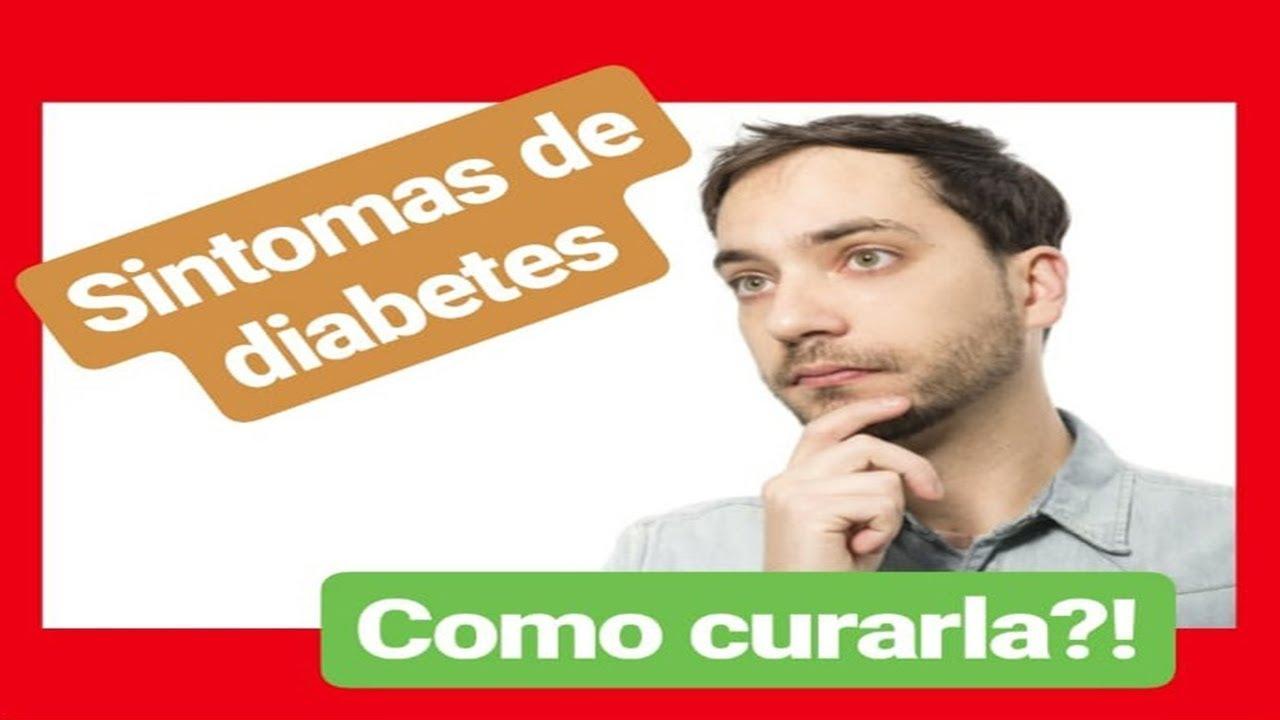 síntomas de diabetes de youtube