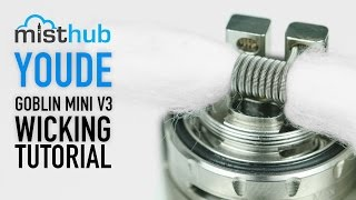 UD Goblin Mini V3 RTA Atomizer Video