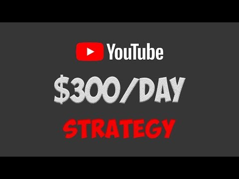 How To Earn $300/Day On YouTube Without Recording Any Videos In 2019