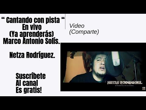 YA APRENDERAS - COVER MARCO A. SOLIS (NETZA RODRIGUEZ)