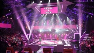 Caterina Torres And Katie Reeve Sing Try: The Voice Australia Season 2