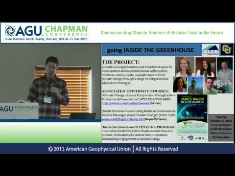 AGU Chapman Conference -- Climate Science: Maxwell Boykoff