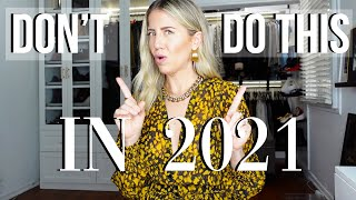 5 THINGS YOU NEED TO STOP DOING IN 2021 | Lindsay Albanese