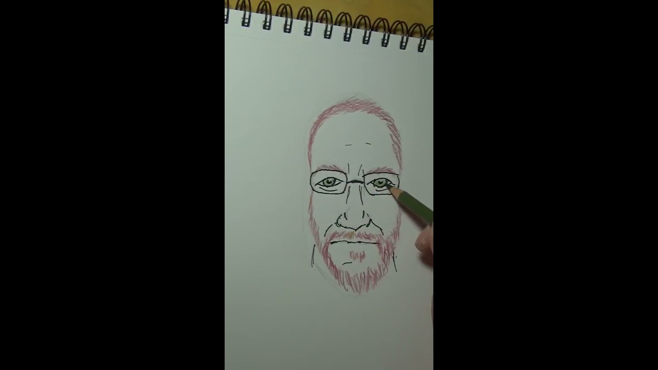 stress free drawing, funny me chit chatting - YouTube