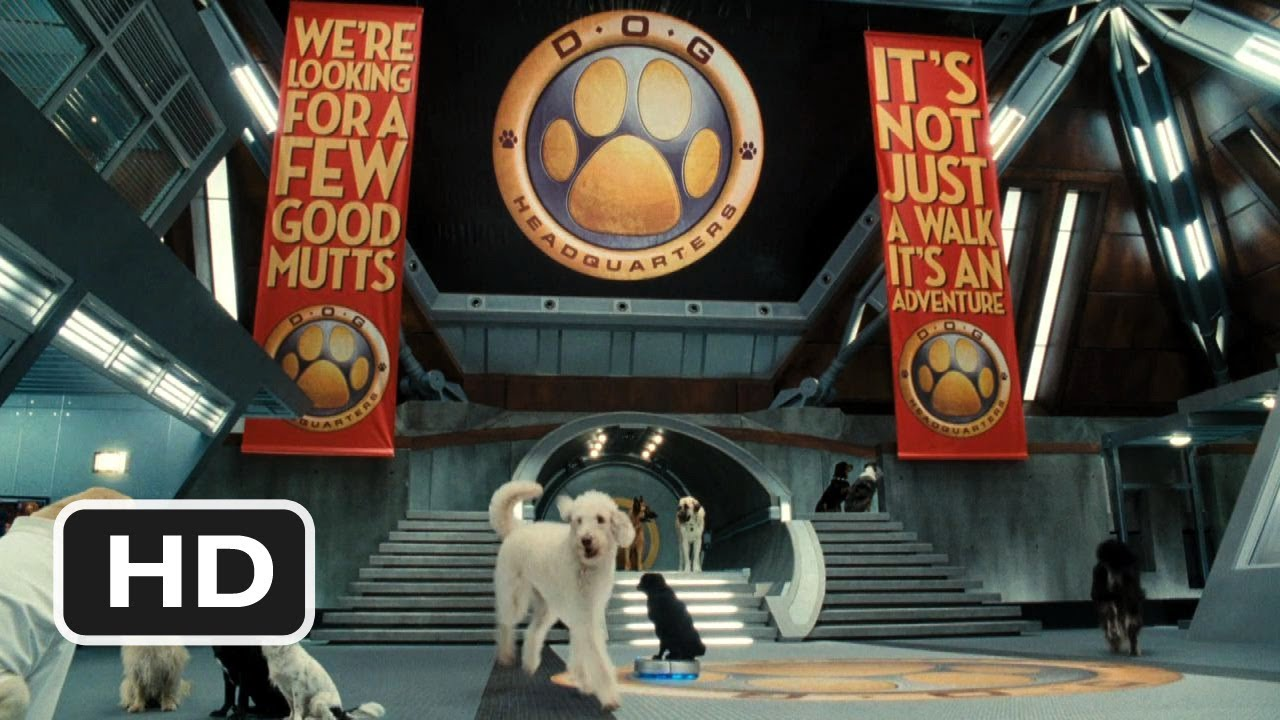 Cats \u0026 Dogs The Revenge of Kitty Galore 2 Movie CLIP , Welcome to Dog HQ  (2010) HD