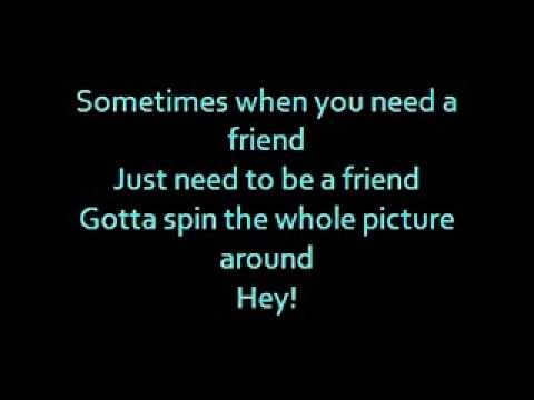 Barbie Movie Song Be A Friend Lyrics Youtube