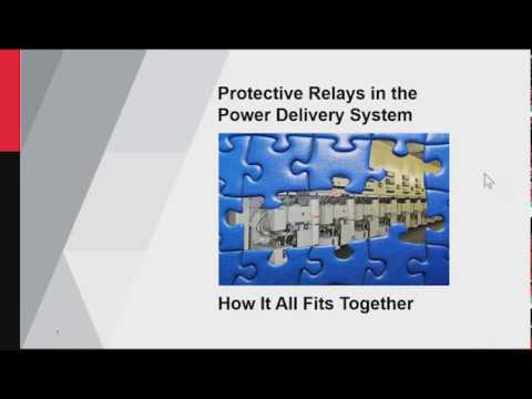 Protective Relays in the Power Delivery System    How it all fits together