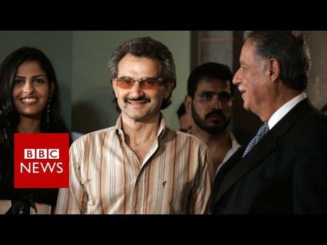 Saudi princes among dozens detained in 'corruption' purge - BBC News