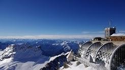 Zugspitze Gipfel Panorama Germany Dezember
