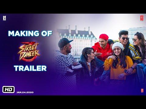 Making of The Trailer: Street Dancer (3D) Varun D, Shraddha K,Prabhudeva, Nora F | Remo D