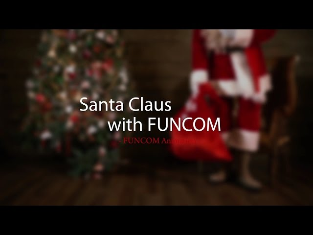 Santa Claus With FUNCOM Animation