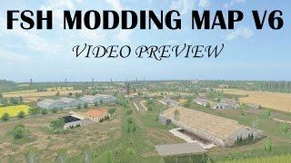 farming simulator 17 fsh modding map v6 video preview