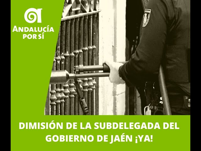 Dimisión subdelegada de Jaén