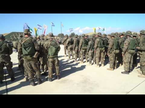 Commando Brigade exercise in Cyprus, June 2017