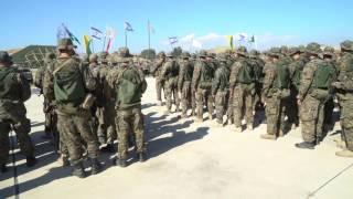 Commando Brigade exercise in Cyprus, June 2017