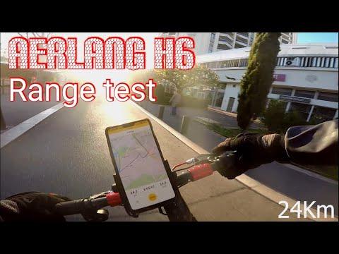 Test D'autonomie / Range Test AERLANG H6 / Xiaomi M365 Killer !