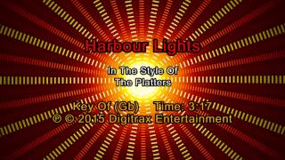 The Platters - Harbour Lights (Backing Track)