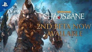 Warhammer: Chaosbane | 2nd Beta Launch Trailer | PS4