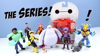 Big Hero 6 The Series Baymax Action Figures and Collection Toy Review