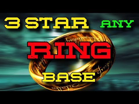 3 Star Any Ring Base | TH10 3 Star Ring Base | TH10 Ring Base | How to 3 Star Ring Base