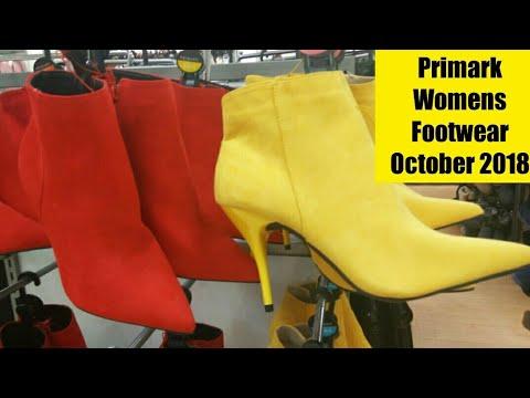 b4c3a0e5d096 Primark Womens Footwear October 2018 - YouTube